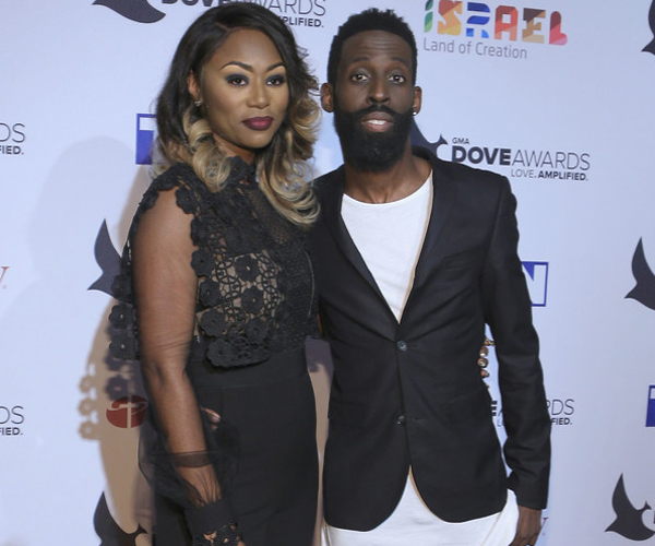 Image result for tye tribbett and wife