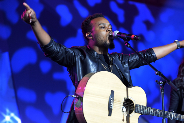 Image result for Travis Greene  Getty image
