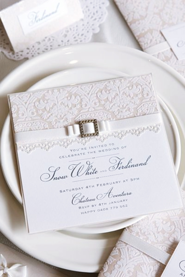 Unique And Modest Wedding Invitation Card Ideas