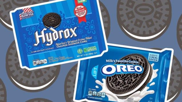 hydrox oreo facts
