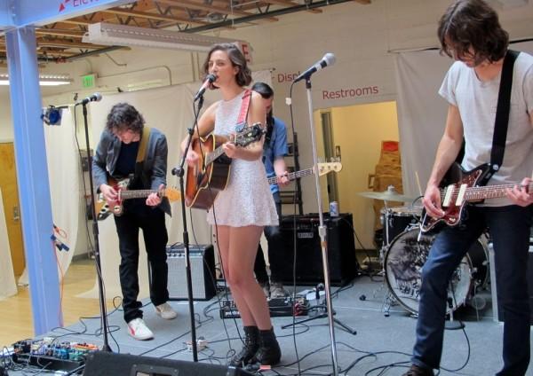 Nightjacket at Make Music Pasadena, June 6, 2015