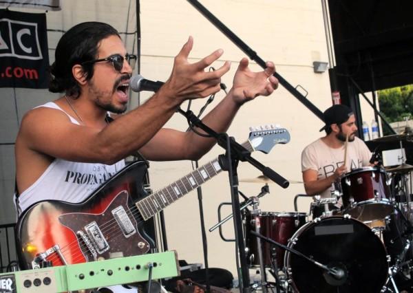 Little Wolves at Make Music Pasadena, June 6, 2015