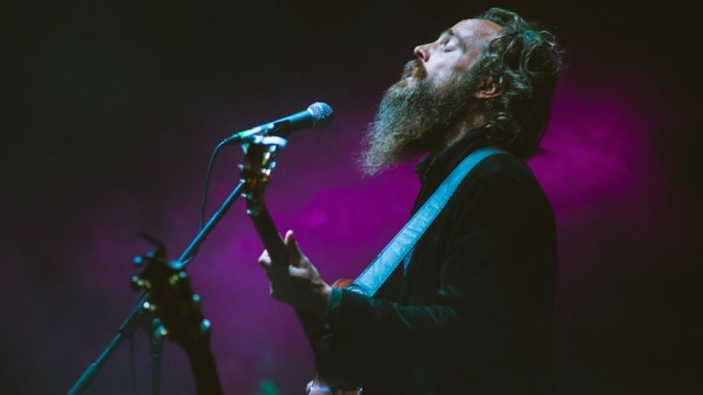 Iron & Wine at Music Tastes Good (Photo by Samantha Saturday)