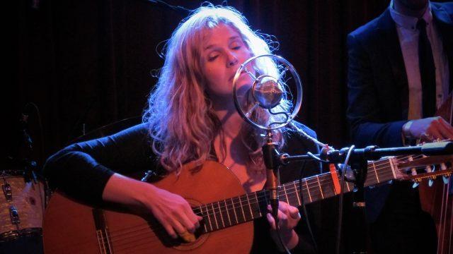 Leslie Stevens on Wednesday night at the Bootleg Theater