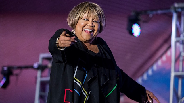 Mavis Staples at the Santa Monica Pier. Photo by Carl Pocket