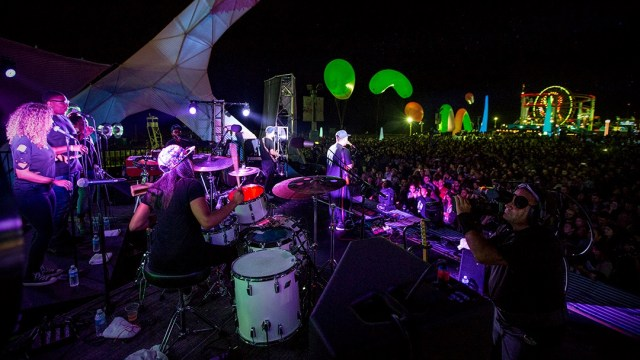 Unknown Mortal Orchestra at last year's Twilight Concert Series (Photo by Carl Pocket)