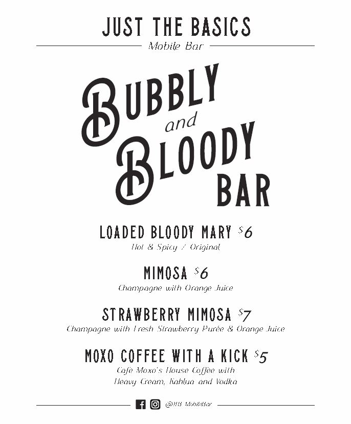 Bloody & Bubbly Bar