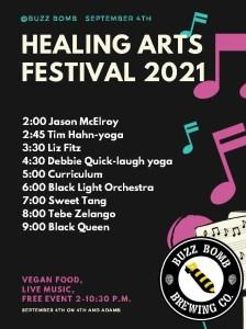 Healing Arts Festival 2021