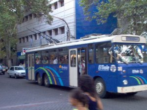 And one more trolley from Mendoza. Photo from Jorge Guevara.