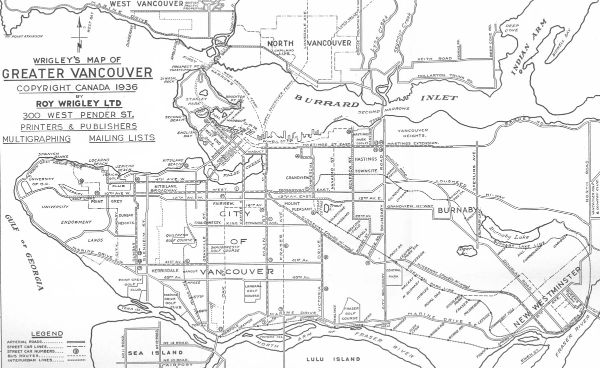The Buzzer blog » A short history of interurbans in the Lower Mainland