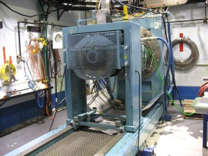 The transmission Dyno, where transmissions are tested.
