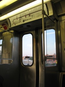On the Brown Line.
