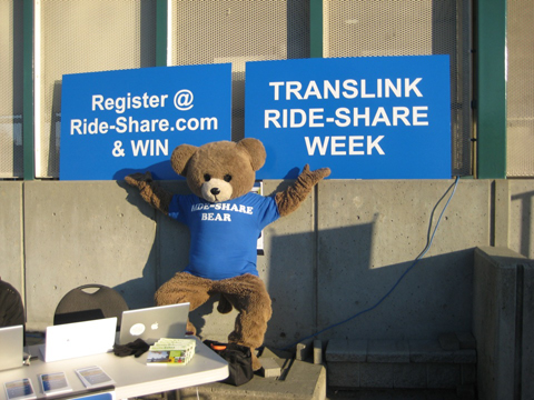 Ride-Share bear!
