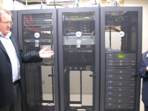 The servers carrying all the Quickpass data.