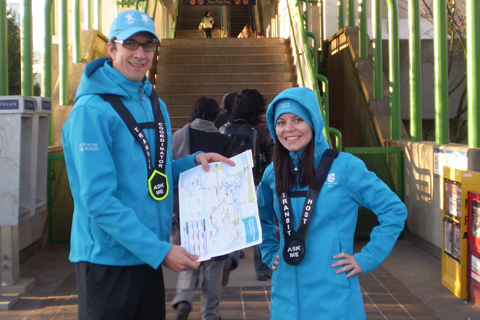 TransLink transit hosts will be helping customers during the Olympics.