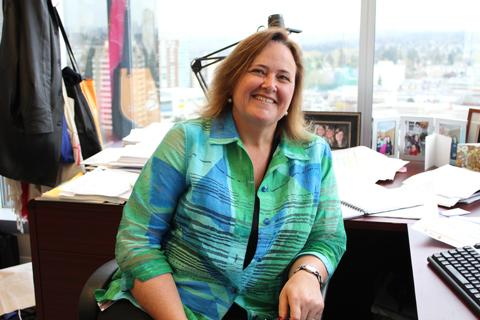 Amelia Shaw, TransLink's manager of public consultation