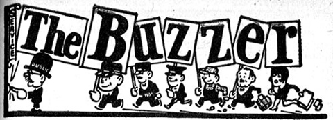 The Buzzer logo from 1936!
