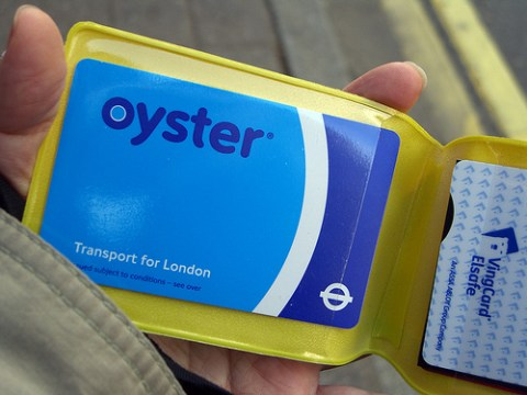 TransLink is working on developing a smartcard for our system, much like the Oyster Card in London. Photo by <a href=http://www.flickr.com/photos/mirka23/2312439764/>mirka23</a>.