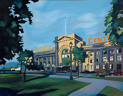Pacific Central Station by Cynthia Buckshon.