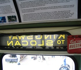 An old Buzzer holder on the trolley