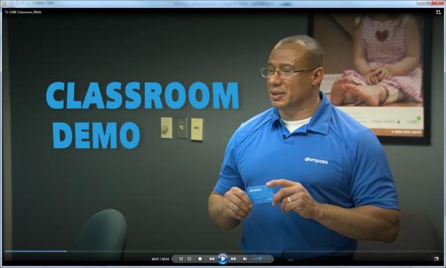 CNIB classroom