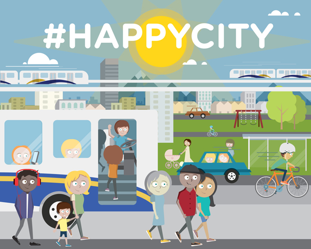 Show us your Happy City!