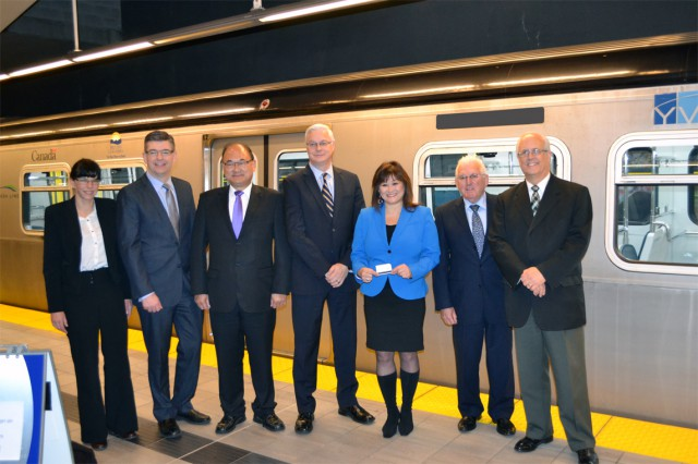 We celebrated 200 million passengers on the Canada Line with our partners on Nov 21!