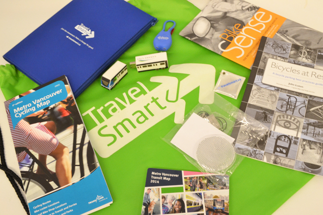Play Santa and you could give a 3-Zone FareCard plus this TravelSmart travel pack to that lucky and deserving someone!