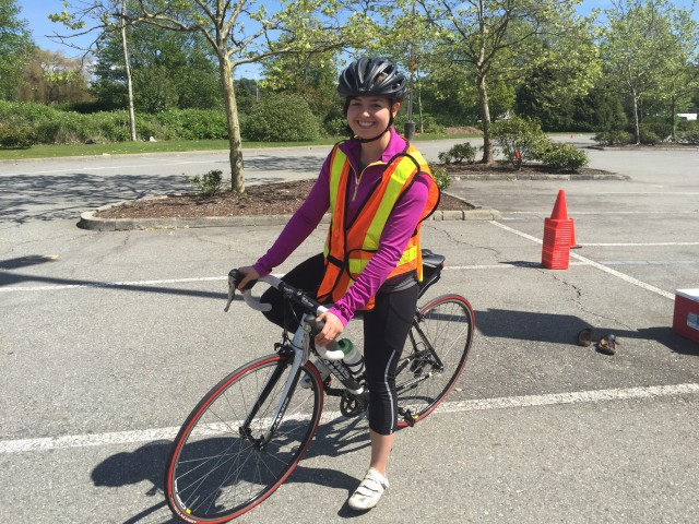 Jessica goes to Bike Patrol training