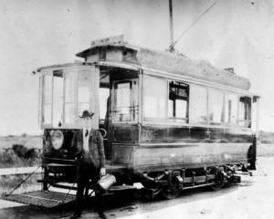Streetcar No. 5 Victoria - 1898 Courtesy of BC Archives