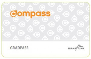GradPass Compass ticket