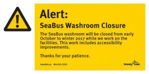 SeaBus Advanced notice north side washroom closure-page-001
