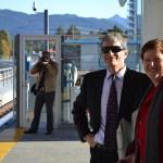 Kevin Desmond, TransLink CEO and Vivienne King, President of BCRTC