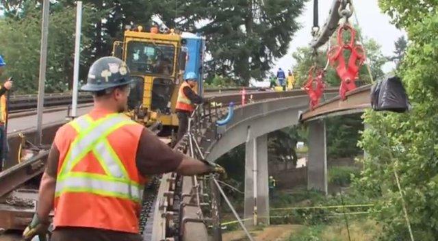 2015 Running Rail work