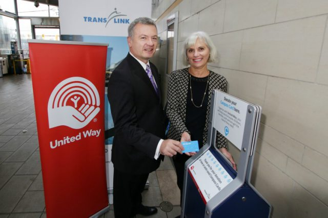 Compass Card Donation Bins