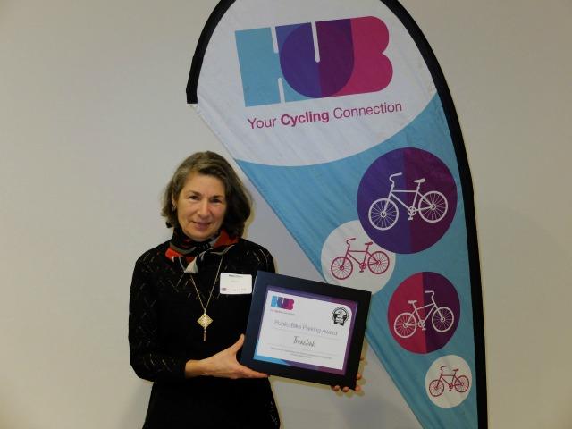 HUB Bike Parkade Award