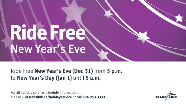Free New Year's Eve Travel