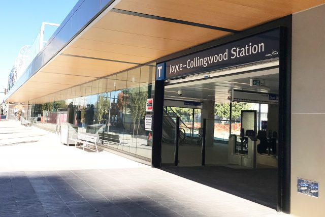 Photo of Joyce–Collingwood Station