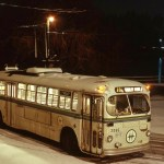 Winter at Stanley Park Loop circa 1974