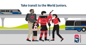 Take Transit to the World Juniors