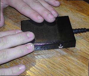 Quiz game slap press pad used with lockout system
