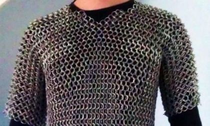 chain mail armor DIY steel rings