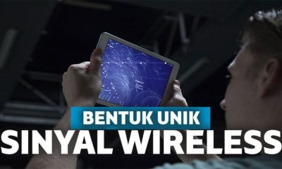 Visualisasi dari Bentuk Sinyal Wireless
