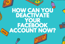 How Can You Deactivate Your Facebook Account Now? ✅ How to Deactivate Facebook Account 2019