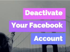 How to Deactivate Your Facebook Account - 2019 | How to #DeleteFacebook