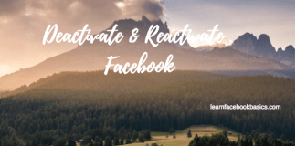 How to Deactivate And Reactivate My Facebook Account | How to #DeleteFacebook