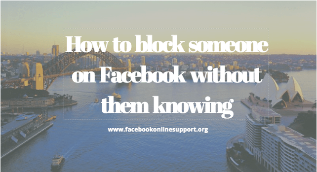 How to block someone using a mobile device on Facebook