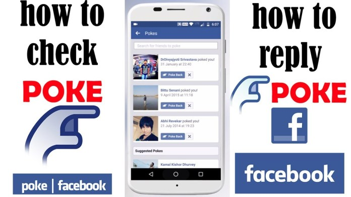 View Facebook Pokes - How to See or Check Pokes received by Me & FB Poke Sent