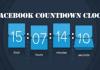 Facebook Countdown Clock – Facebook Page