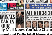 Daily Mail News YouTube Channel – Download Daily Mail News App